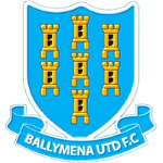Ballymena United football club logo