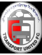 Transport United football club logo