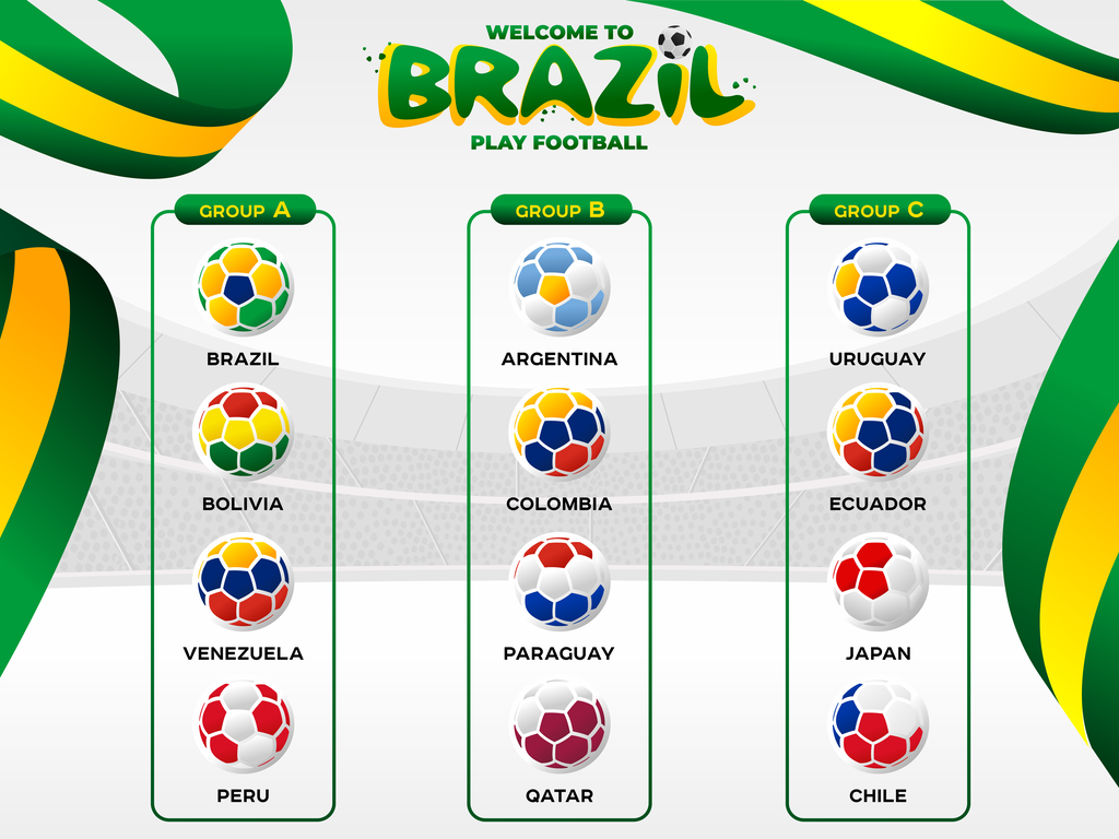 Copa America, Gold Cup, Africa Cup, Women World Cup Soccer API