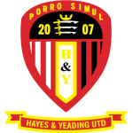 Hayes & Yeading United shield