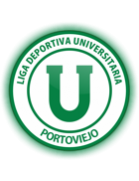 LDU Portoviejo shield