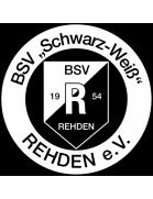 Schwarz-Weiß Rehden shield